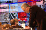 Wolf Blitzer preps at CNN Debate